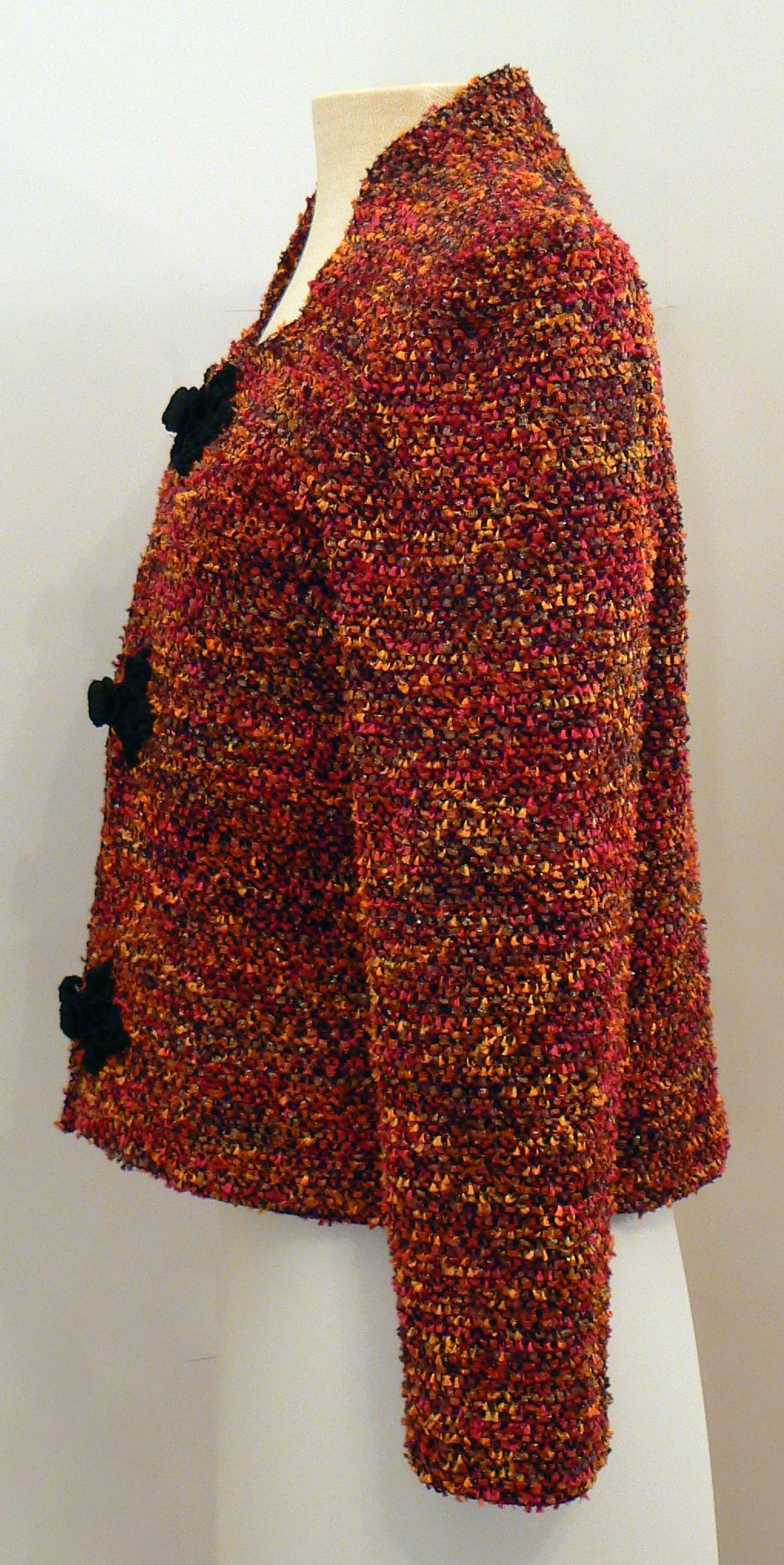 Handwoven Clothing, Jacket, Kathleen Weir-West, 11-001.JPG