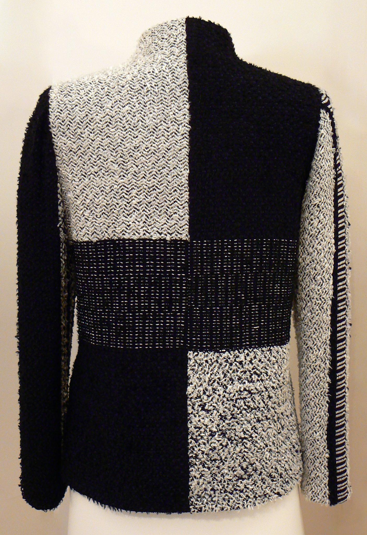 Handwoven Clothing, Jacket, Kathleen Weir-West, 17-002.JPG