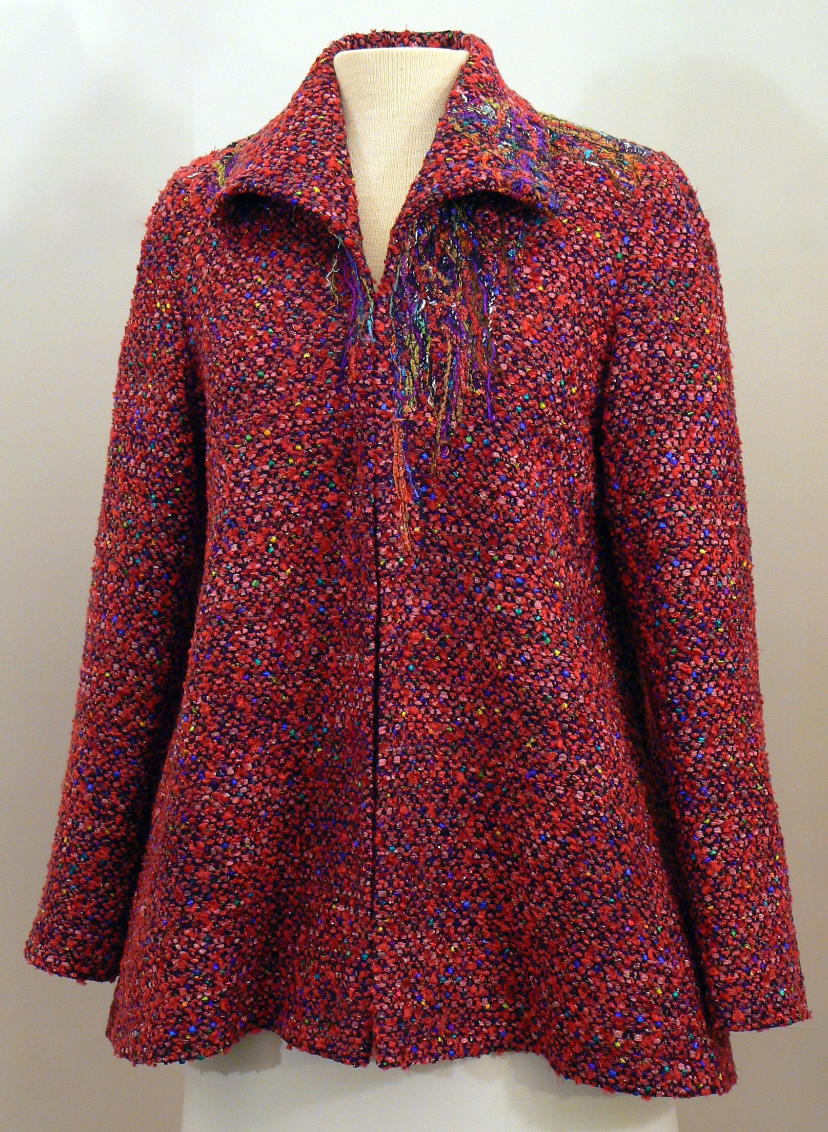 Handwoven Clothing, Wearable Art, Kathleen Weir-West, 19-001.JPG