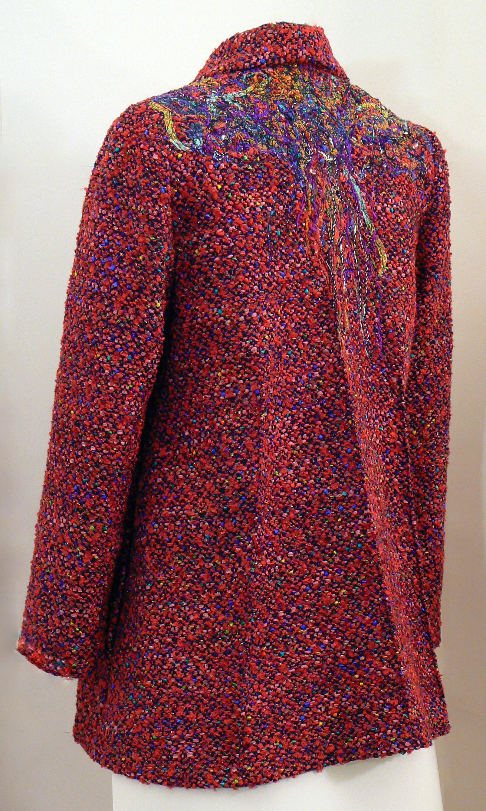Handwoven Clothing, Wearable Art, Kathleen Weir-West, 23-001.JPG