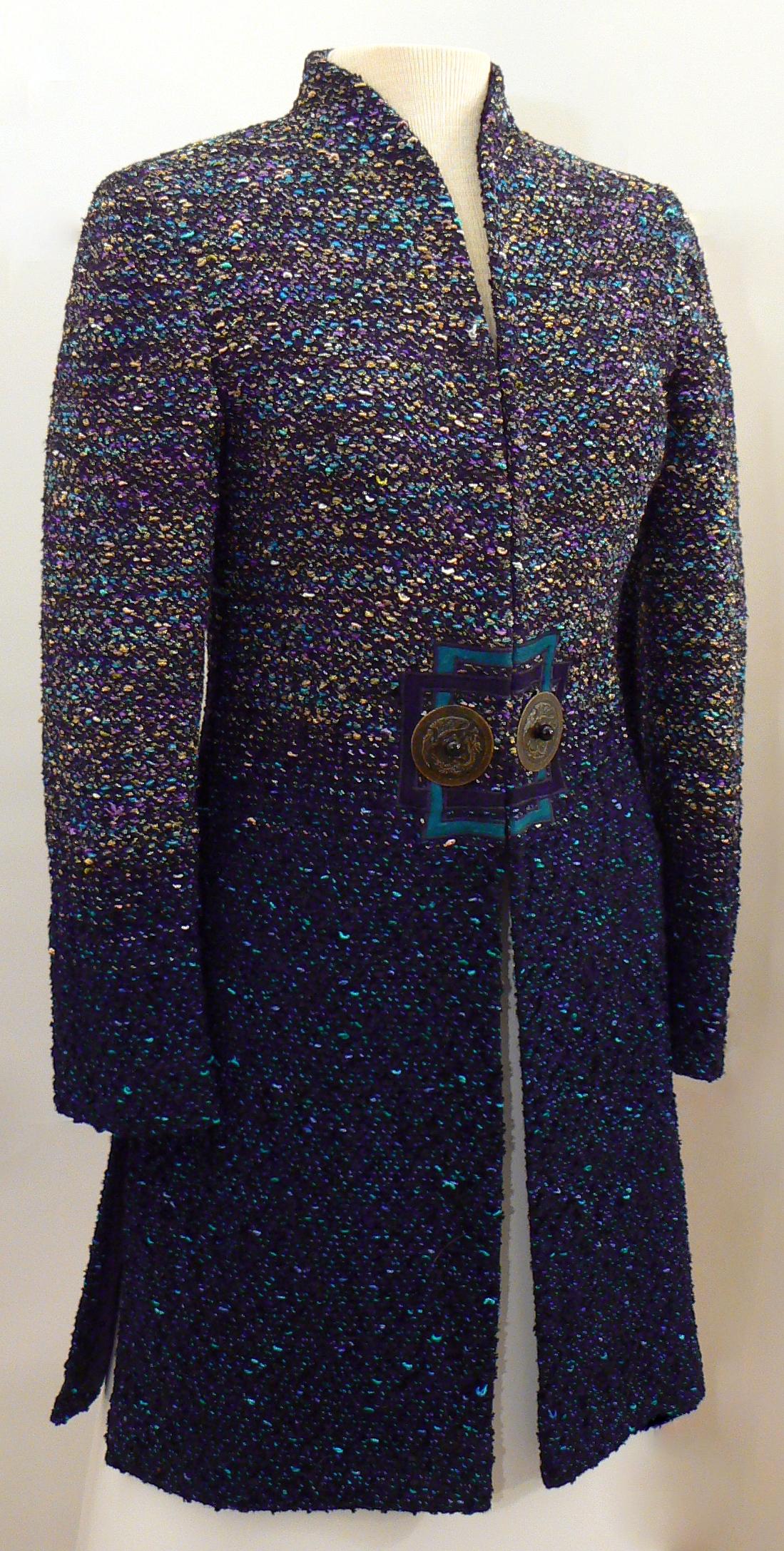 Handwoven Clothing, Coats, Kathleen Weir-West, 12-001.JPG