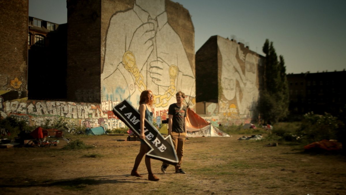 Kamerapferd: Nashorn im Galopp (2012), filmstill © Stephan Müller, Erik Schmitt