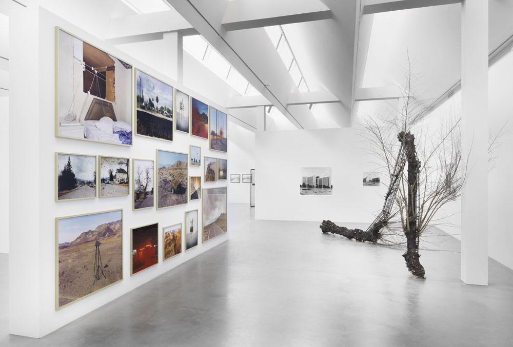Taiyo Onorato & Nico Krebs,  Defying Gravity,  Exhibition View Maschinenhaus (Power House) M2, Photo: Jens Ziehe, 2018