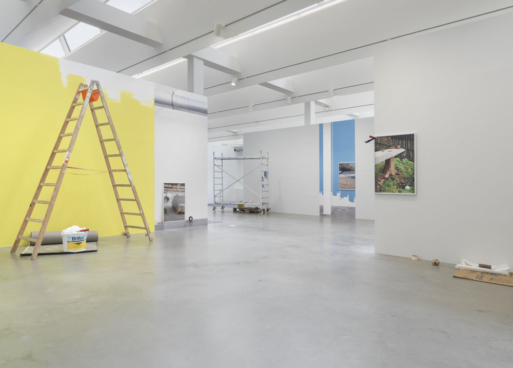 Kathrin Sonntag,  Things Doing Their Thing,  Exhibition View KINDL – Centre for Contemporary Art; Photo: Jens Ziehe, 2018