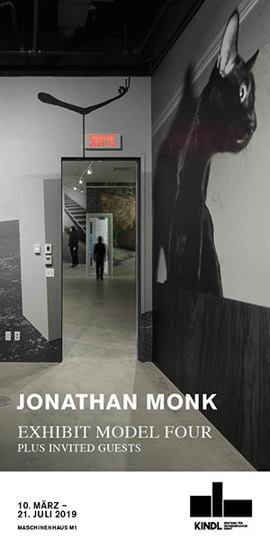 Jonathan Monk   Exhibit Model Four – plus invited guests  10 March – 21 July 2019 MASCHINENHAUS M1