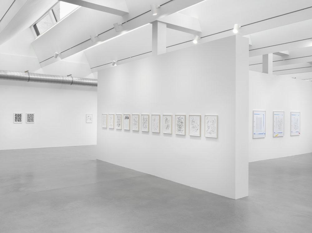 Natalie Czech / Friederike Feldmann, Exhibition view KINDL – Centre for Contemporary Art, Berlin (1 September 2019 – 2 February 2020); © Natalie Czech / VG BILD-KUNST, Bonn, 2019 and Friederike Feldmann / VG BILD-KUNST, Bonn, 2019; Photo: Jens Ziehe