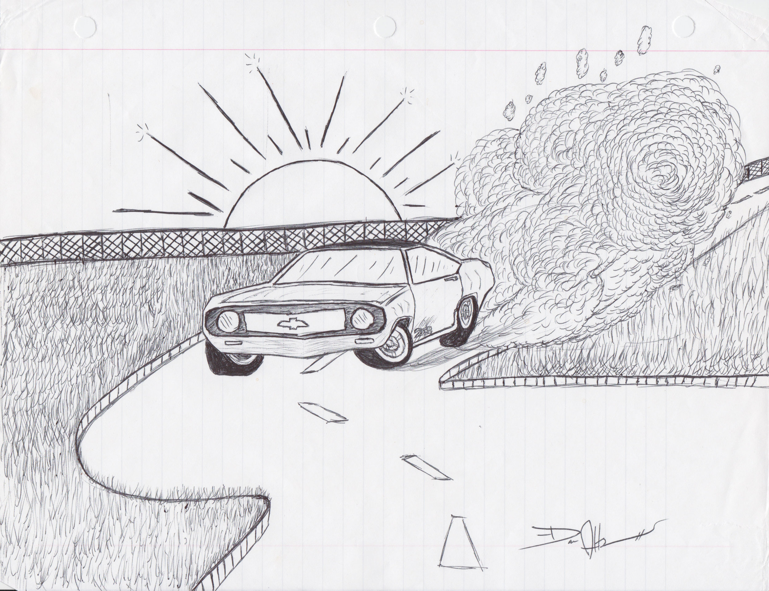 Camaro Sunset