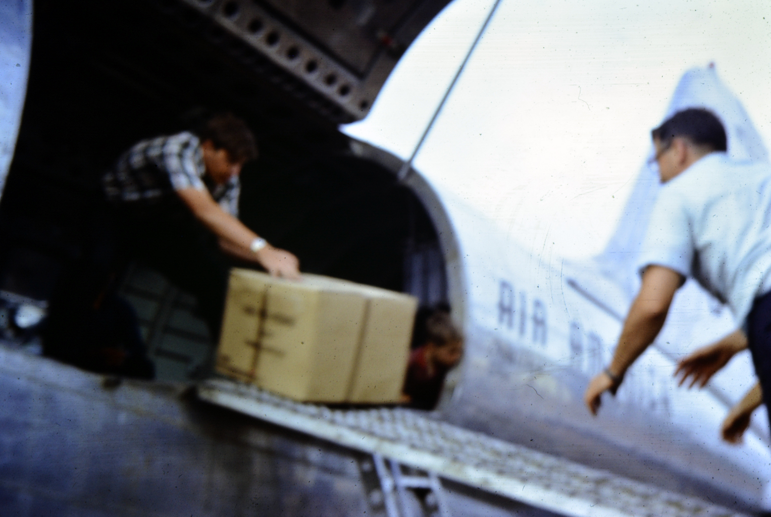 VN Me unloading relief supplies at Dalat summer 67.jpg