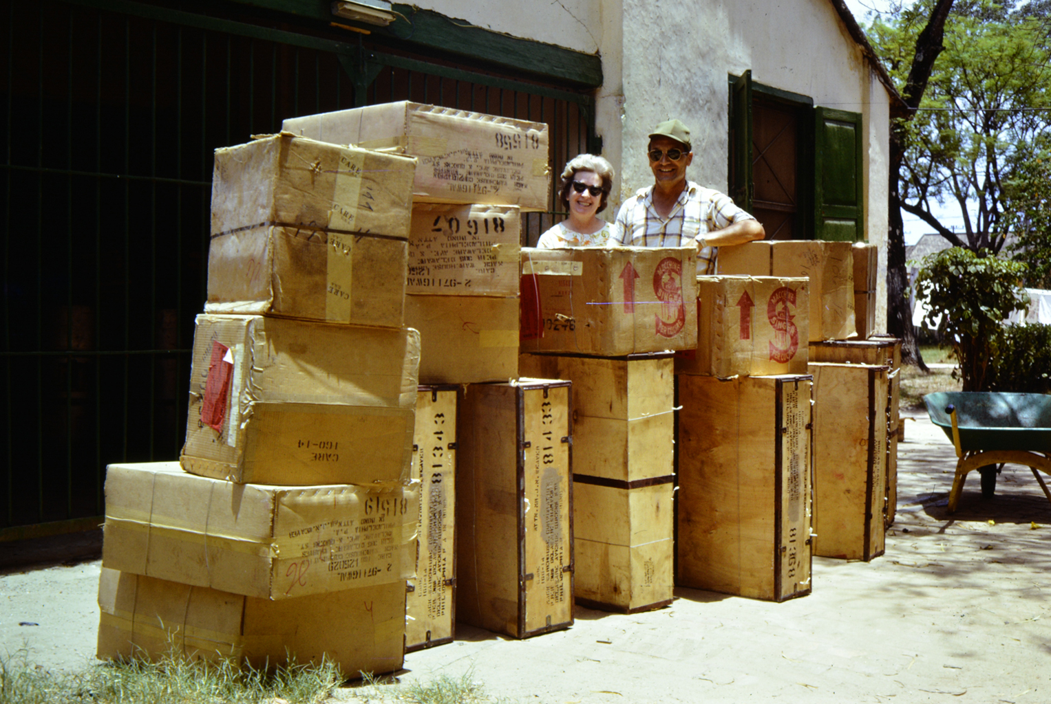 VN 3:15 Mr. and Mrs. Wiwcharuck with supplies.jpg
