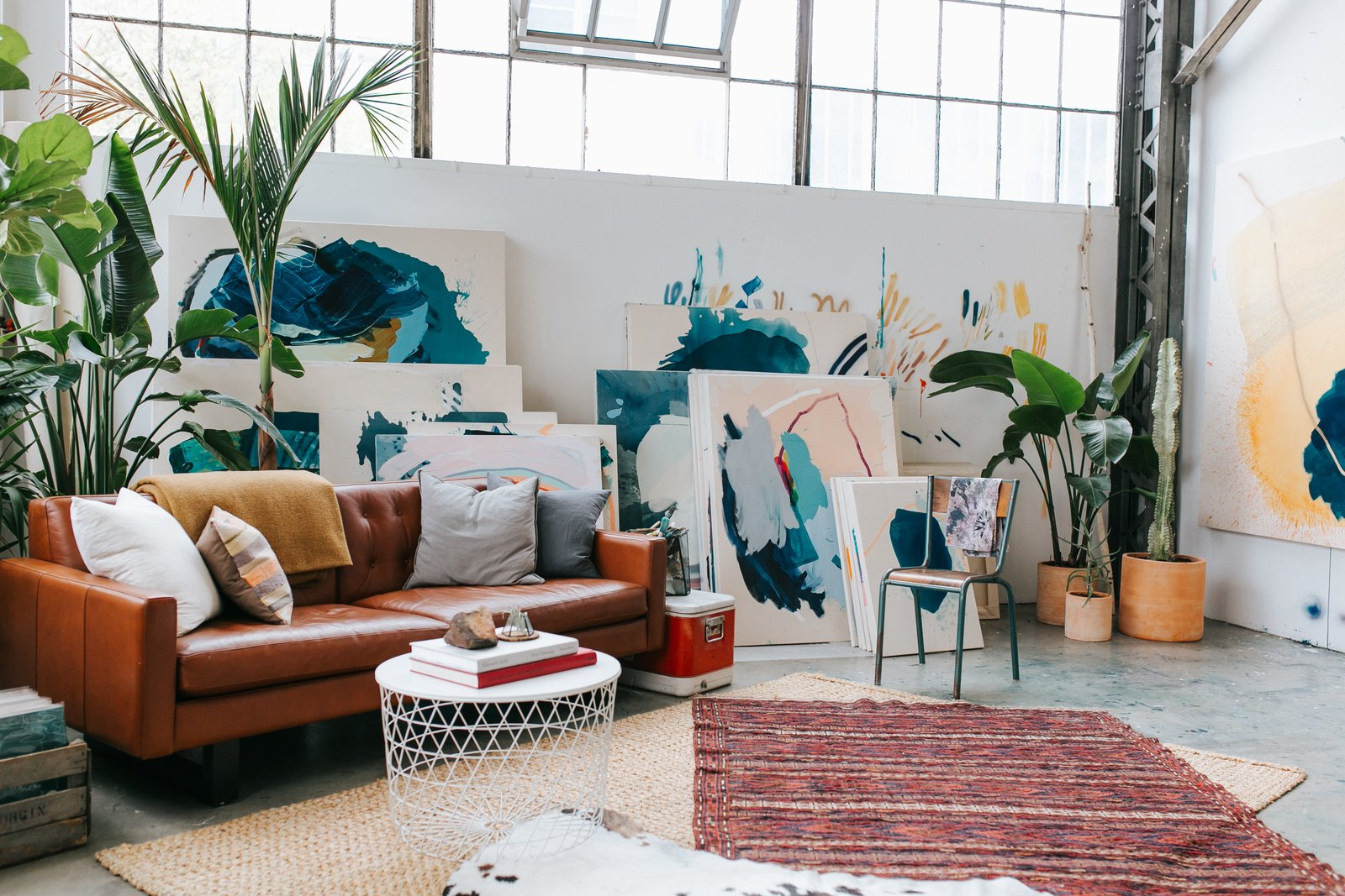 """""""We both love the Dogpatch for many reasons. It's the right amount of balance, being a little removed from the bustle of San Francisco, and there's a great sense of community among the eclectic inhabitants. It feels like an island within a city."""""""