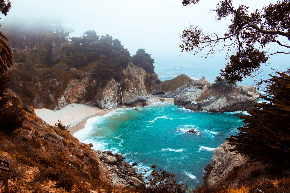 McWay Falls at Julia Pfeiffer Burns State Park.(Joe Yates)