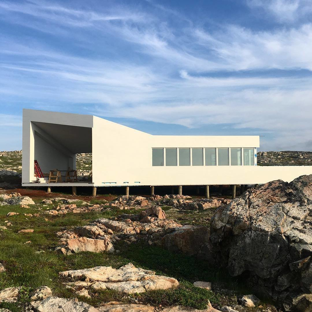 Fogo Island Inn. (Courtesy of Saunders Architecture)