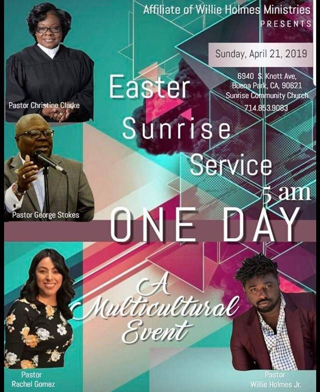Join us this Sunday for our Ressurection Sunday Celebration!