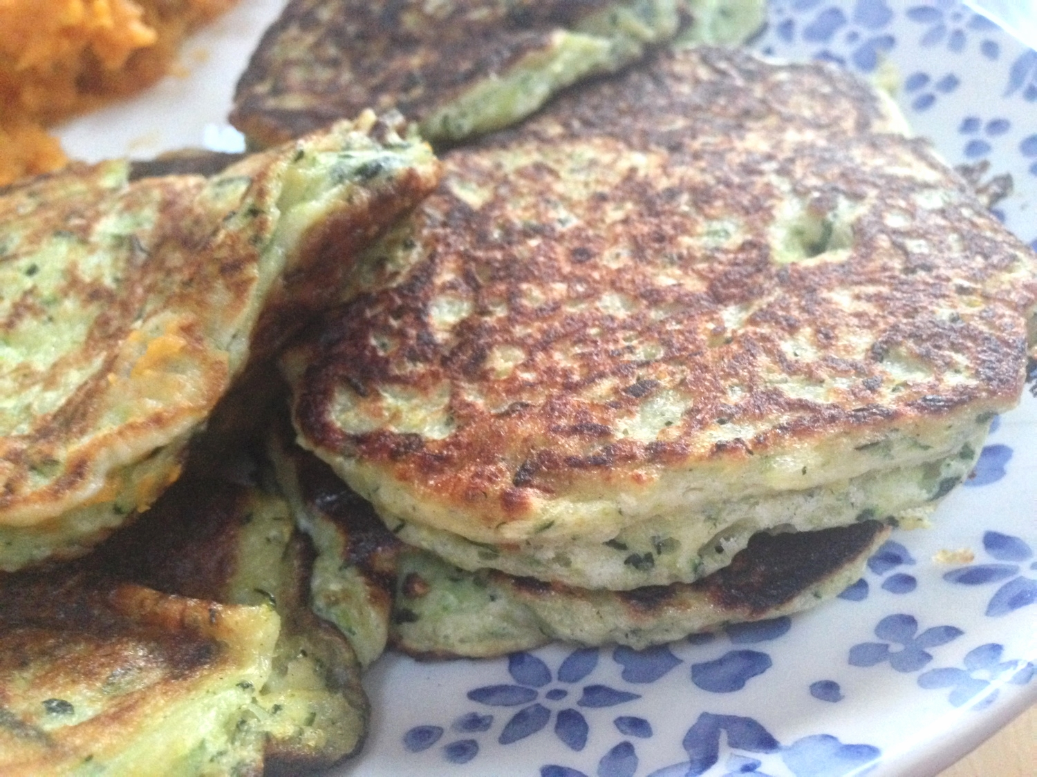 Chilli & Courgette Fritters