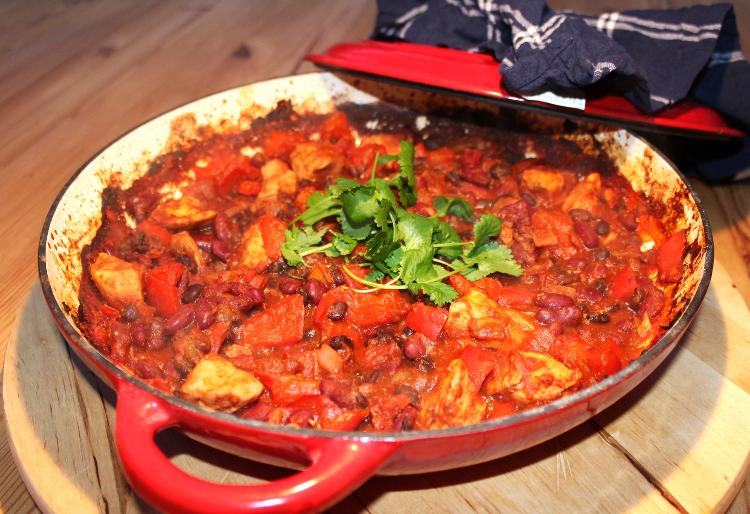 Chicken and Bean Chilli