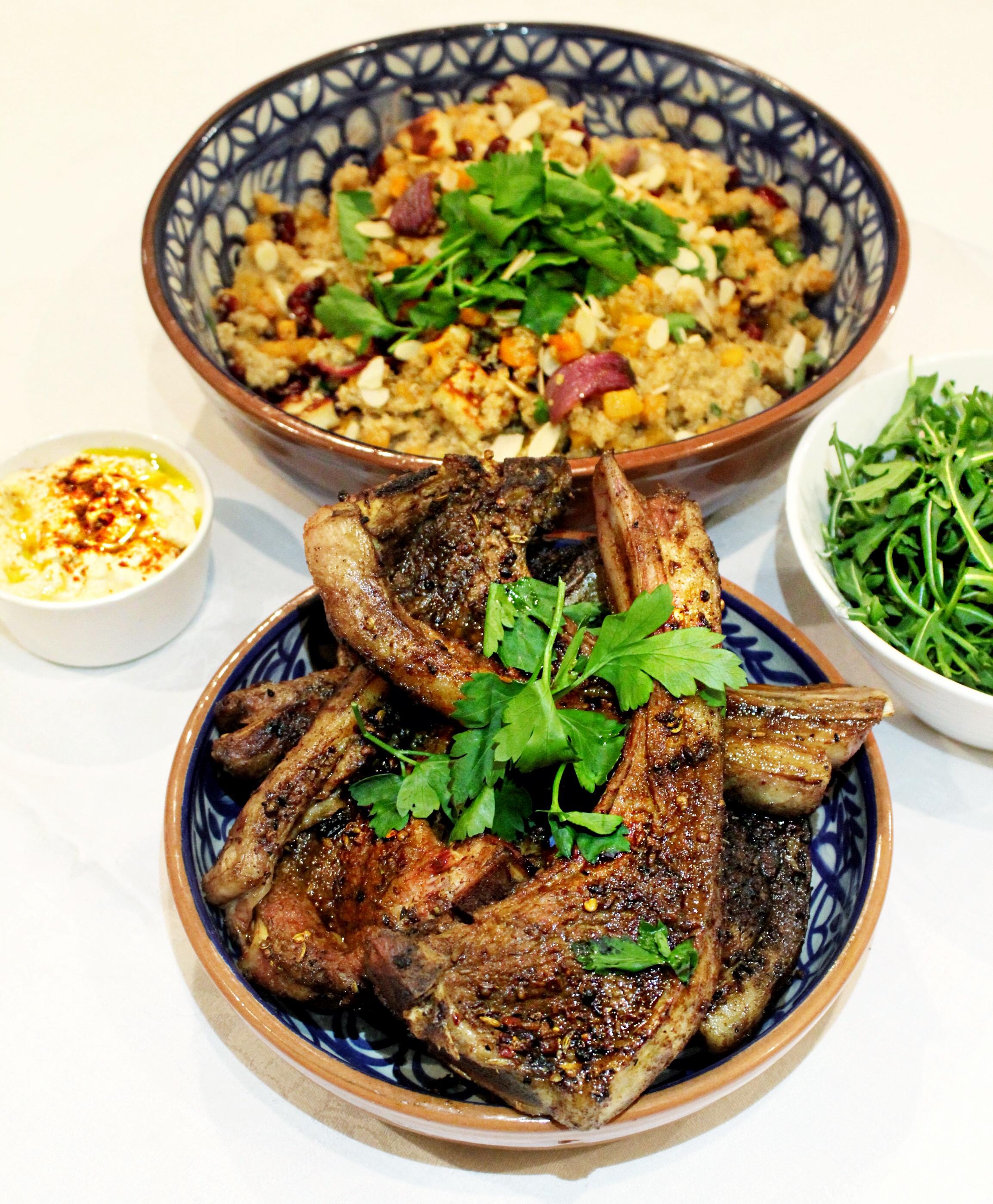 Moroccan Lamb & Roasted Butternut Squash Quinoa