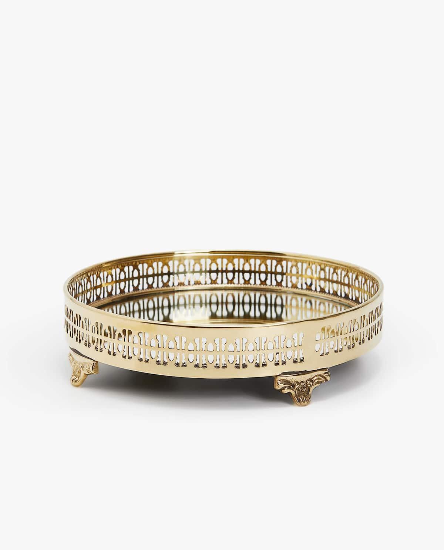 Gold Tray, Zara Home, £29.99