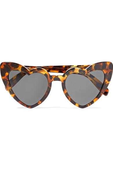 Loulou Heart Frame Sunglasses, Saint Laurent, £275