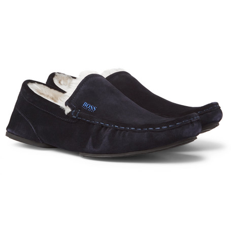 Hugo Boss Slippers, Mr Porter, £90