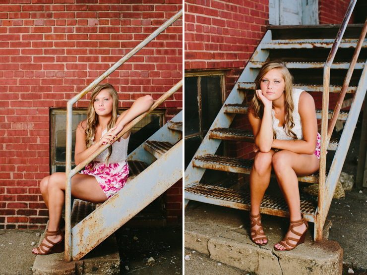 Senior Girl Photo Session by Meredith Washburn Photo
