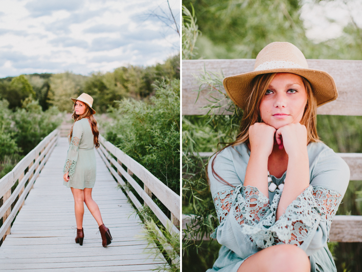 Senior Girl Photo Session by Meredith Washburn