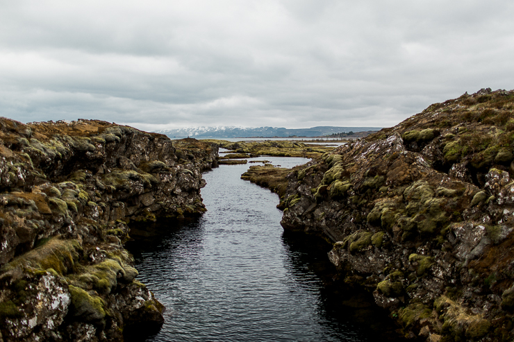 Silfra, Iceland where you can touch both North America and Europe at the same time