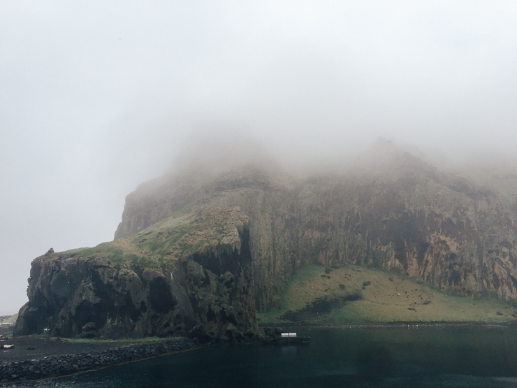 View of the Westman Islands