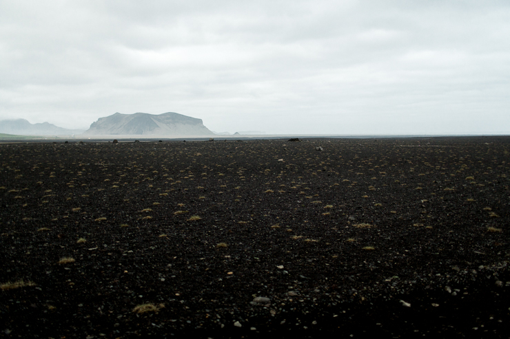 black beach at Solheimasandur