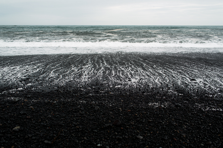 Reynisfjara black beach near Vik, Iceland