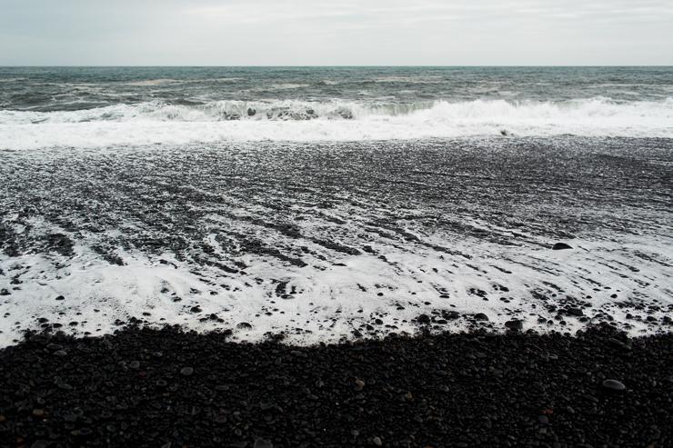 Reynisfjara black beach near Vik, Iceland