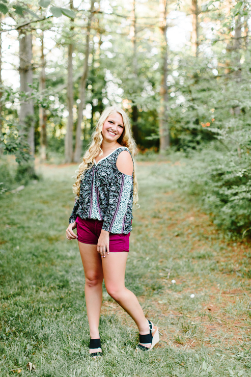 Summer Senior Girl Photography
