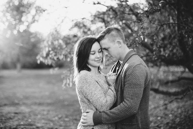 Engagement photos by the river Peoria, Illinois