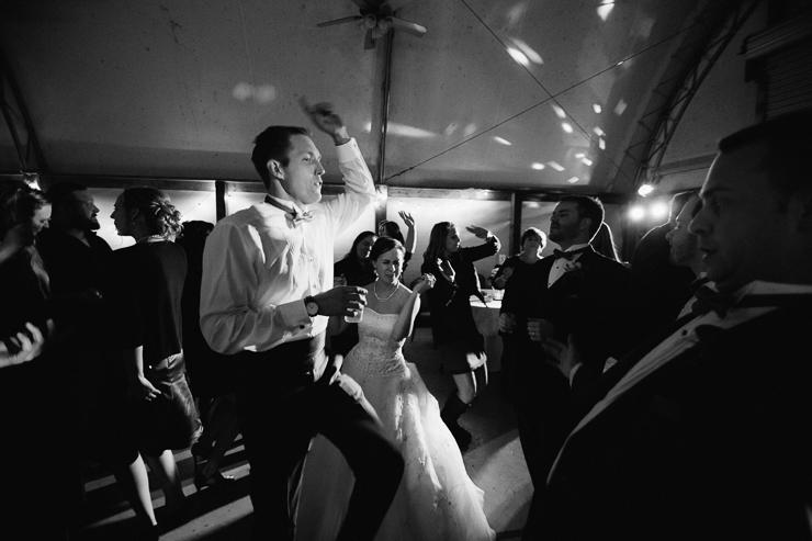 Reception Dancing at Kickapoo Creek Winery, Edwards, IL