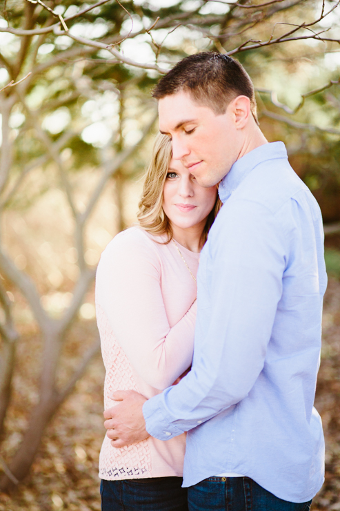 Midwest spring intimate engagement photography