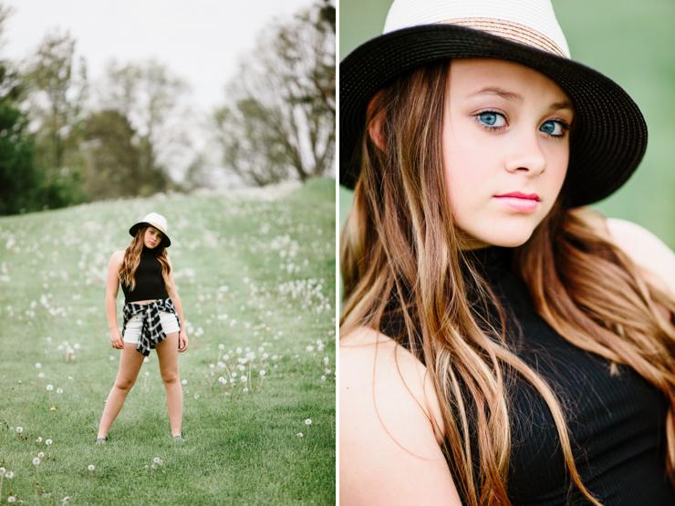 Junior High School Girl Portraits