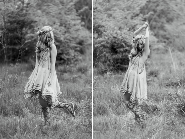 Free People Inspired Bohemian Anniversary Photo Session