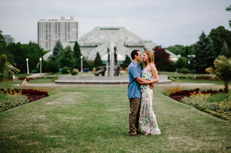 Intimate Elopement Photographer Meredith Washburn Chicago Sunrise Engagement Photo Session