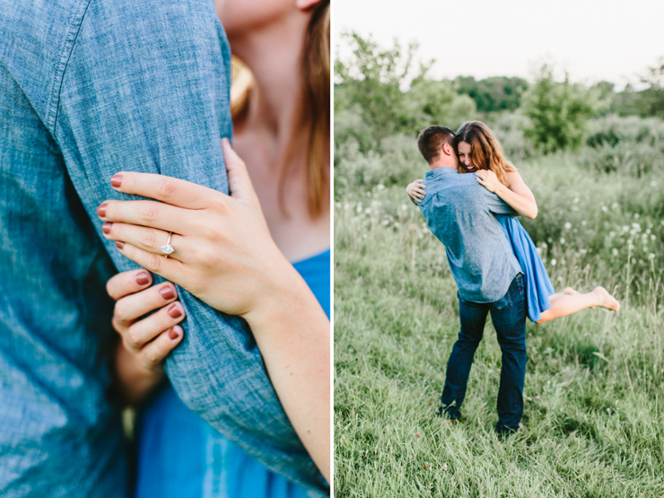 Intimate Countryside engagement session