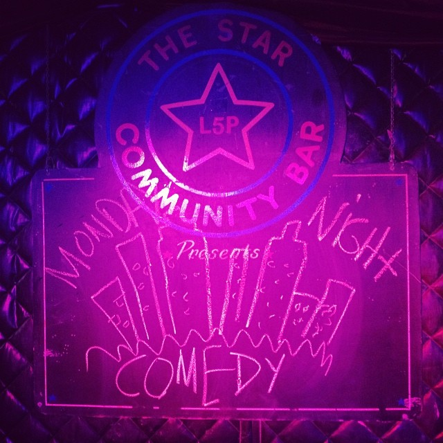 MONDAY NIGHT COMEDY — March 17, 2014 — The Star Community Bar, Atlanta, GA