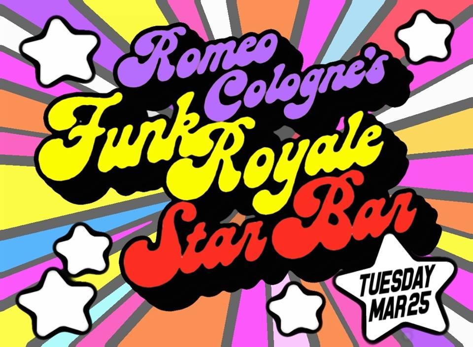 ROMEO COLOGNE'S FUNK ROYALE featuring QUASI MANDISCO. — March 25, 2014 — The Star Community Bar, Atlanta, GA