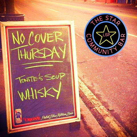 Free Show Thursday — April 10, 2014 — The Star Community Bar, Atlanta, GA
