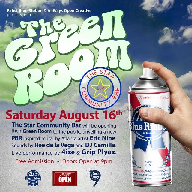 The Green Room— August 16, 2014 — The Star Community Bar, Atlanta, GA