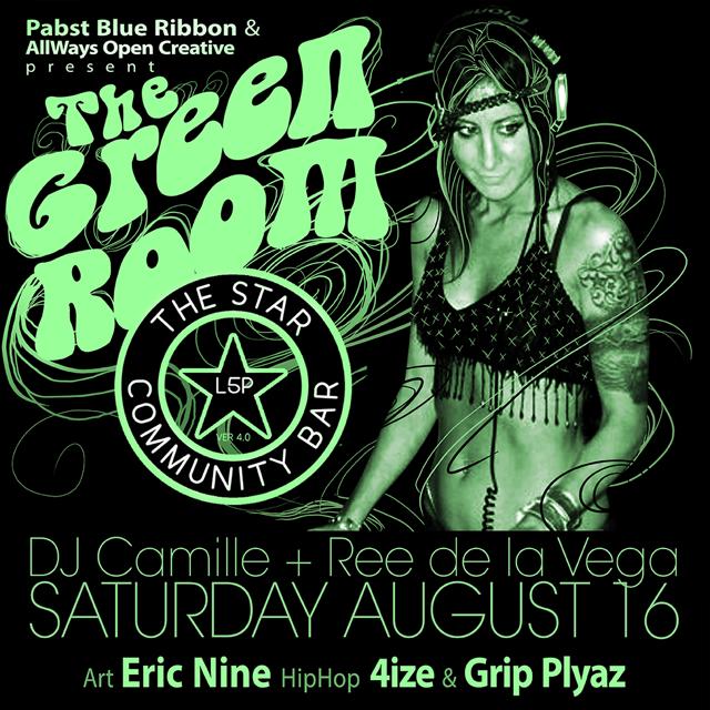 DJ Camille— August 16, 2014 — The Star Community Bar, Atlanta, GA