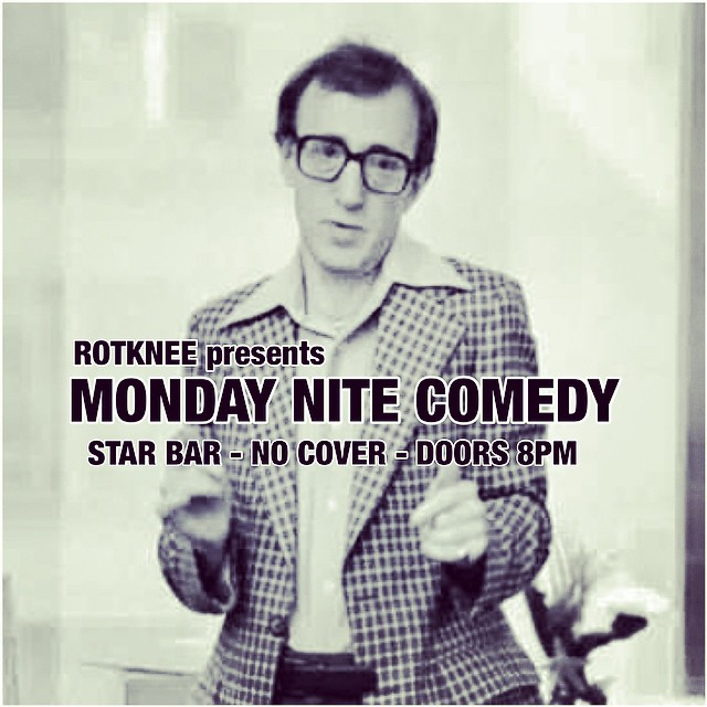 Rotknee Presents: Monday Night Comedy — October 20, 2014 — The Star Community Bar, Atlanta, GA