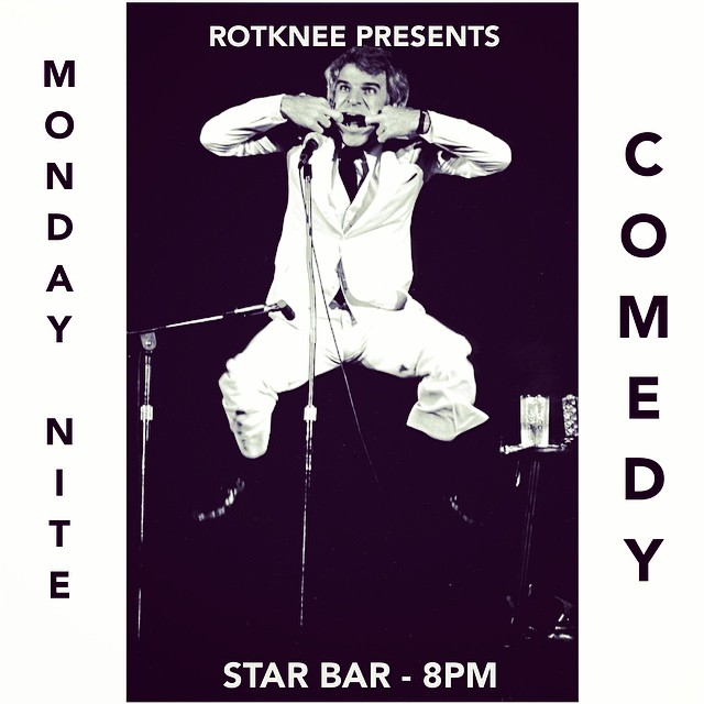 Rotknee Presents: Monday Night Comedy — October 27, 2014 — The Star Community Bar, Atlanta, GA
