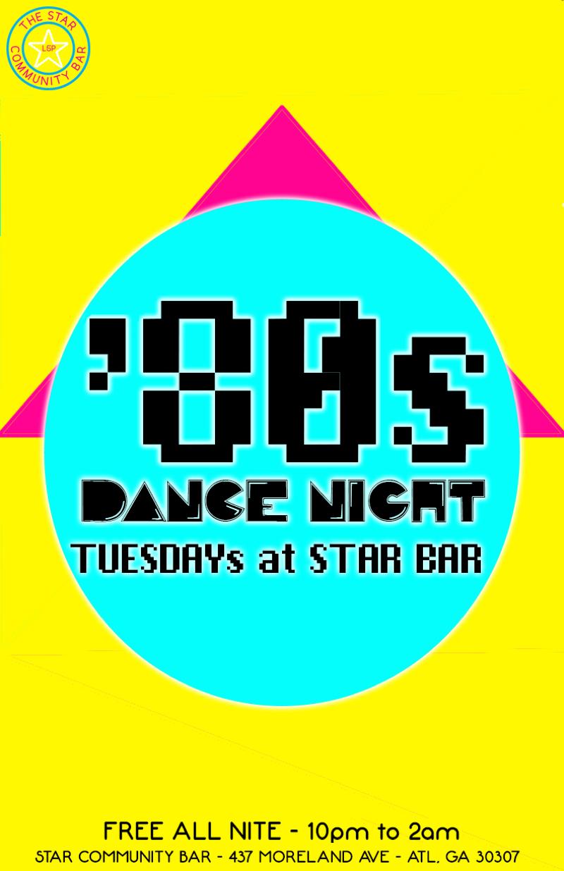 '80s Dance Night and Star Bar 1st Anniversary Party — September 16, 2014 — The Star Community Bar, Atlanta, GA