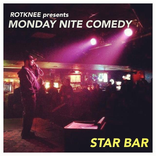 Rotknee Presents: Monday Night Comedy — November 3, 2014 — The Star Community Bar, Atlanta, GA