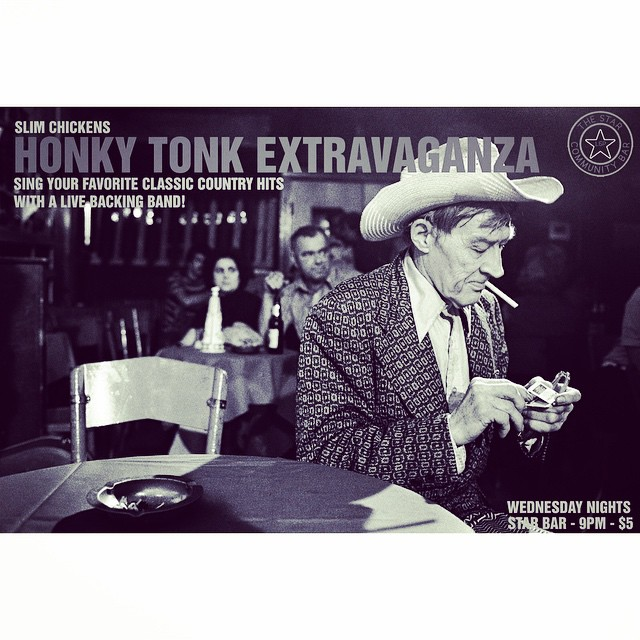 Slim Chickens' Honky-Tonk Extravaganza — October 22, 2014 — The Star Community Bar, Atlanta, GA