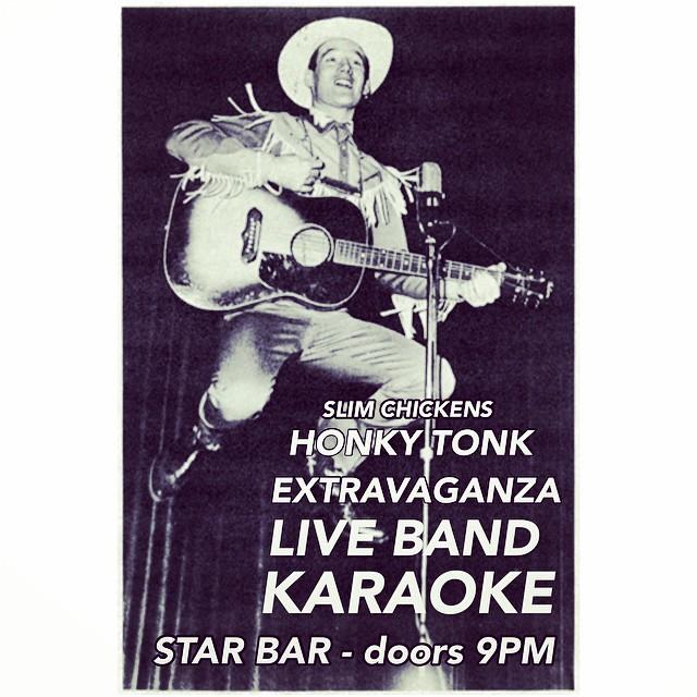 Slim Chickens' Honky-Tonk Extravaganza — October 29, 2014 — The Star Community Bar, Atlanta, GA