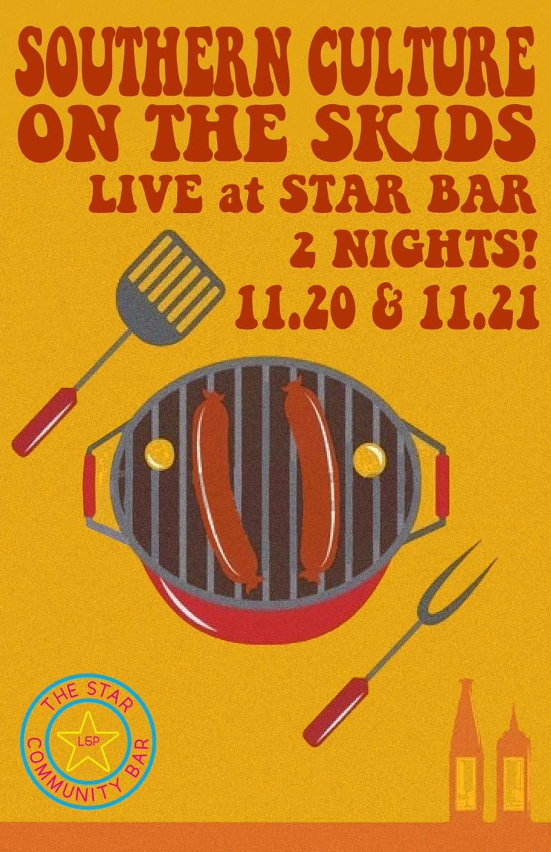 Southern Culture on the Skids — November 20, 2014 — The Star Community Bar, Atlanta, GA